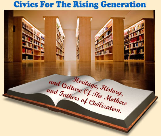 rv bey R. V. Bey Publications Changing the Literature. Civics.