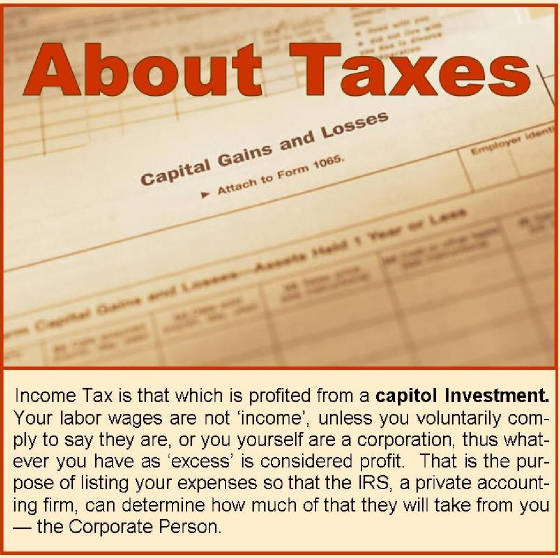 About Taxes